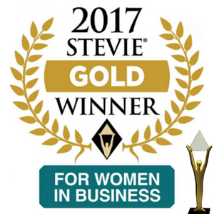 International Stevie Women In Business Awards Gold Winner